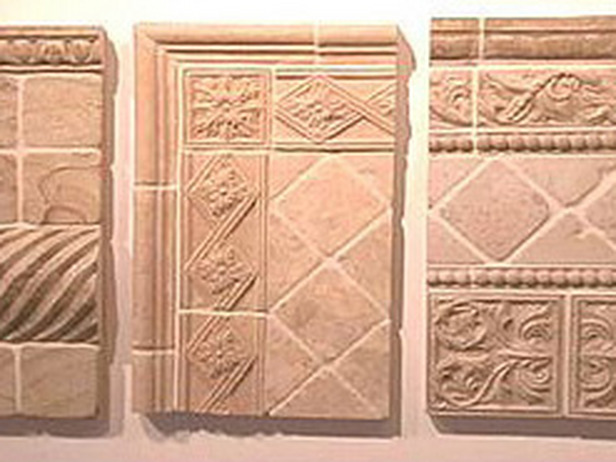 Stone tiles come in shapes and finishes for any look.