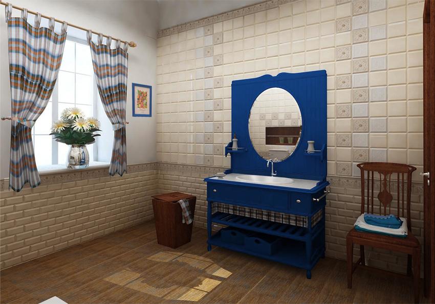 "Bathroom Design Idea ""Country"" - washbowl."