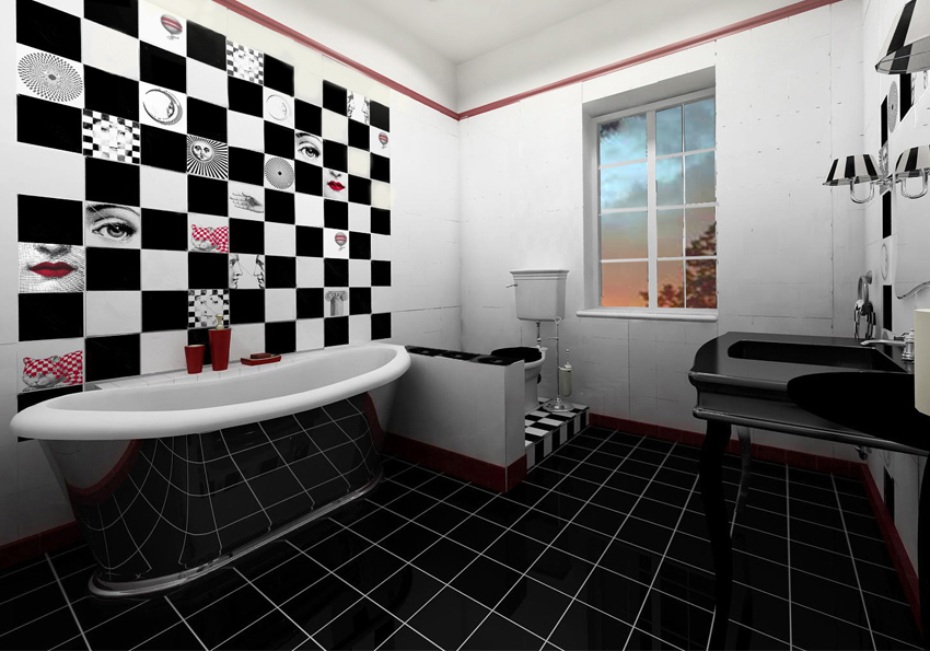 Bathroom Tile Art Design FTD Company San Jose California
