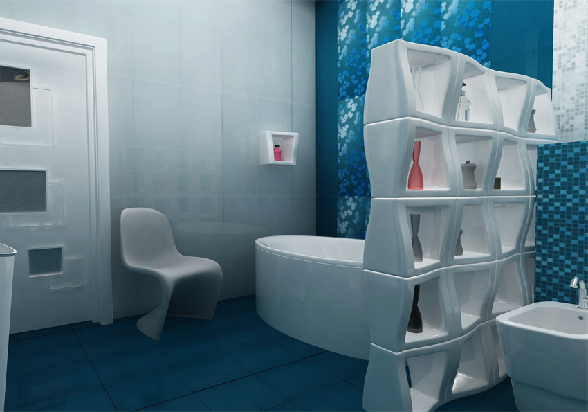 """Bathroom Design Idea """"Modern"""" - bath."""